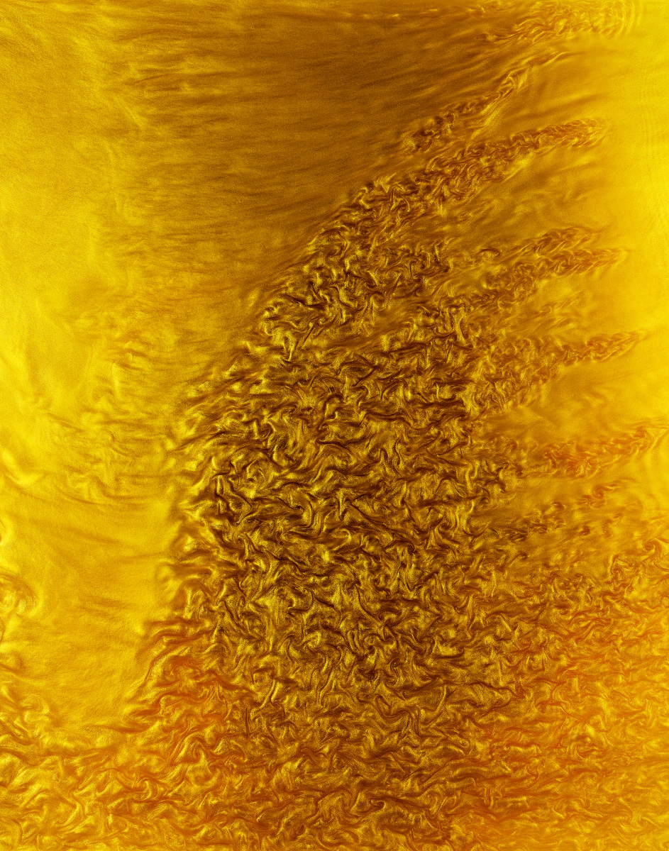 PROPRIETARY GOLD LIQUID ABSTRACT SHAPES SHOT BY DAVID FILIBERTI