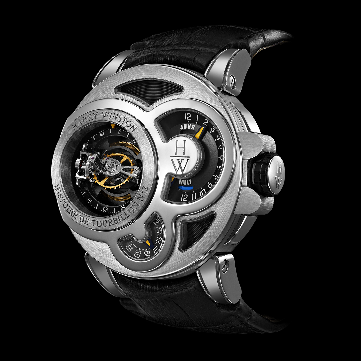 HIGH JEWELRY LIMITED EDITION WATCH MADE BY HARRY WINSTON AND SHOT BY DAVID FILIBERTI